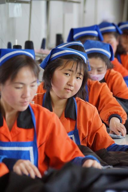 Rason Garment Factory North Korea