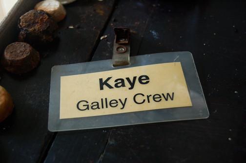 Kaye name tag