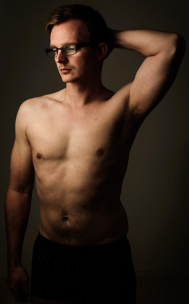 Fitness Progression Self Portrait #1