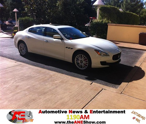 Doc arrives to Vegas in Style! Check this 2014 Maserati q4! by theaneshow