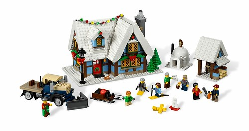 LEGO 10229 Winter Village Cottage 000