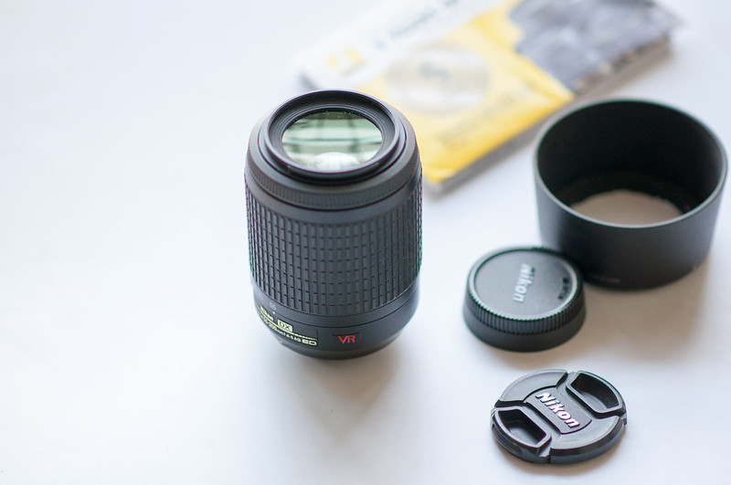 Day 356.365 –  55-200 mm lens product shot