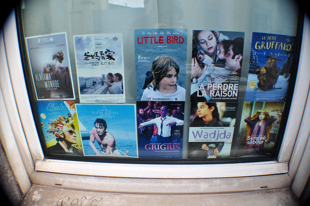 10 Posters de Films projetés à l'Espace 89