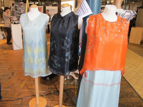 Smart Textiles Salon - Strokes&Dots by Valérie Lamontagne of Department of Design & Computation Arts, Concordia University