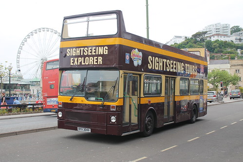BYX 304V , MCW Metrobus, Sightseeing Tours, Torquay, 10/6/13