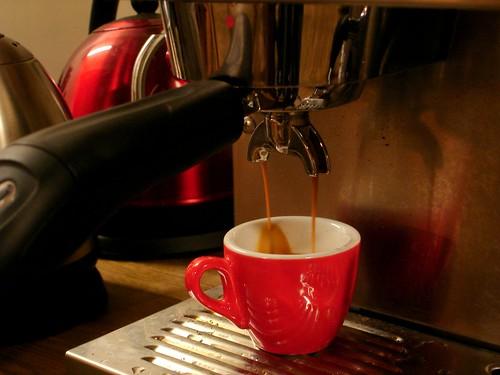 Pulling a Shot of Espresso