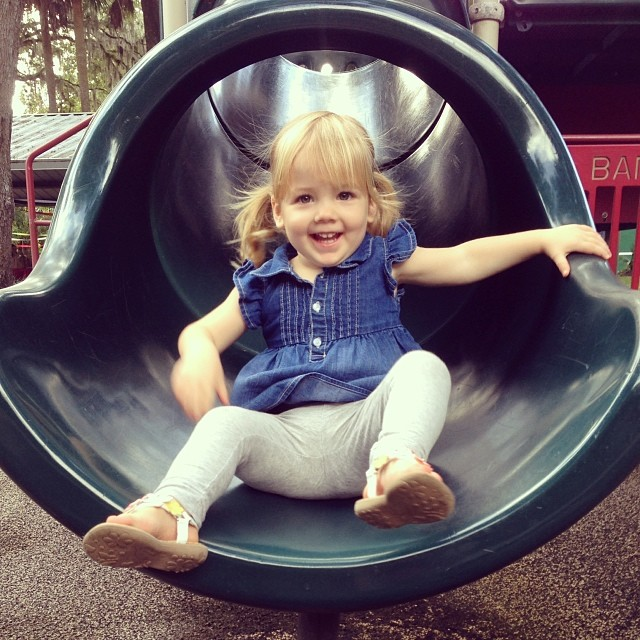 We had so much fun playing at the park for Charlie's 4th birthday party!