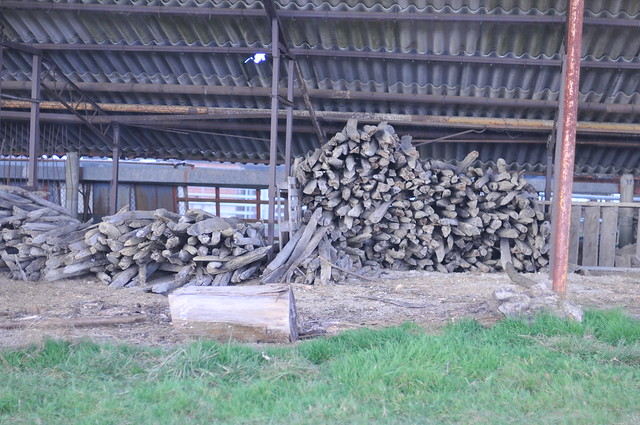 woodpile, a bit
