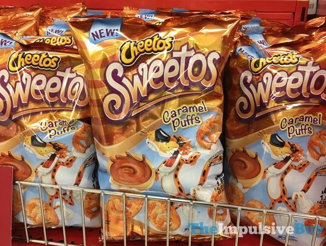 Cheetos Sweetos Caramel Puffs