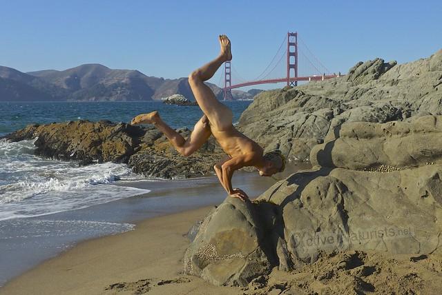 naturist 0003 Baker Beach, San-Francsico, CA, USA