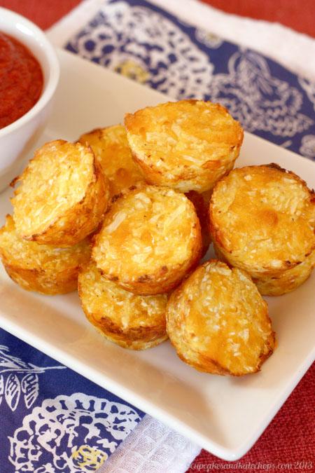 Baked Cauli-Tots   cupcakesandkalechips.com   #sidedish #vegetarian #cauliflower #tatertots