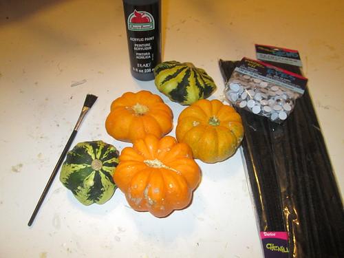 Spider Pumpkins!