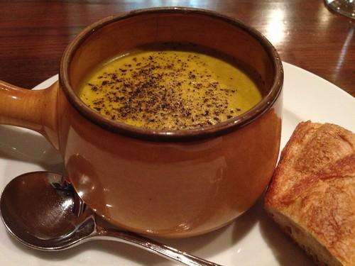 くりかぼちゃのスープ@サレ・ポワヴレ・ウノ