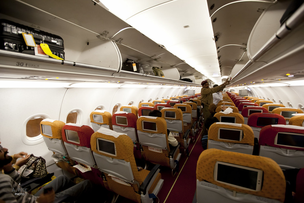 Air India Economy Class Cabin