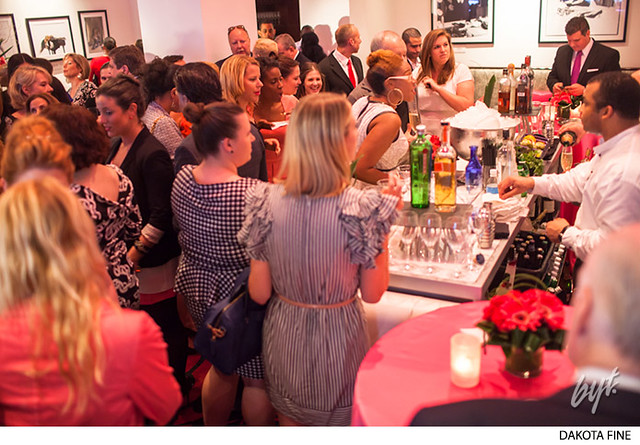 Gilles Bensimon exhibition opening party at the Sofitel in Washington, D.C.