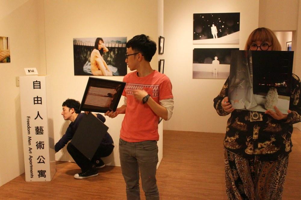 「裸視」- 范峻銘、十三、許時豪、錢傑西 四人攝影展