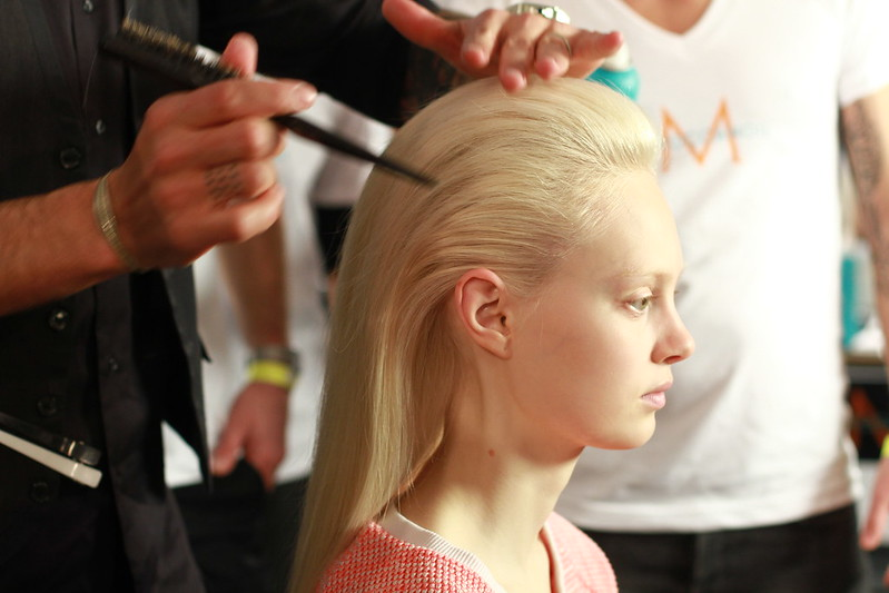 Cushnie et Ochs Fall-Winter 2013- Backstage 003