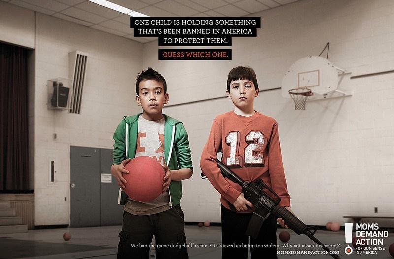 MOMS-DEMAND-ACTION-FOR-GUN-SENSE-IN-AMERICA-DODGEBALL