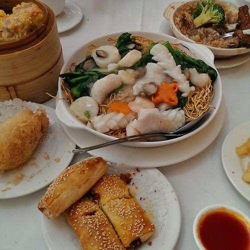 Dim sum at Sun Sui Wah