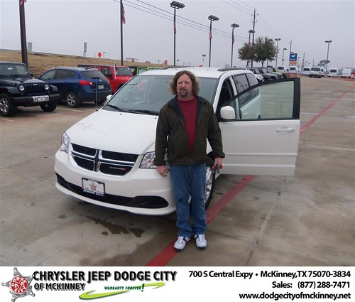 Happy Anniversary to Mark T Zittel on your 2013 #Dodge #Grand Caravan from George Rutledge  and everyone at Dodge City of McKinney! #Anniversary by Dodge City McKinney Texas