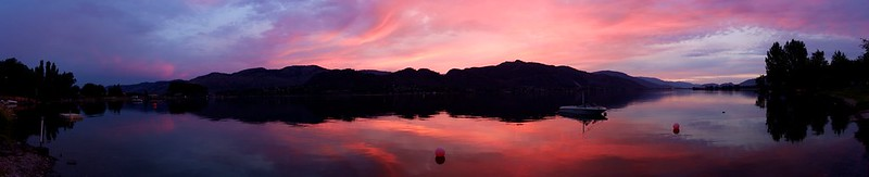 Osoyoos Sunset Panorama