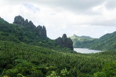 Nuku Hiva Island Map - Marquesas Islands, French Polynesia ...