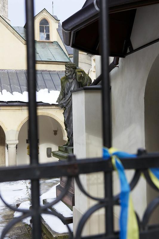 Armenian church. Lviv, Ukraine