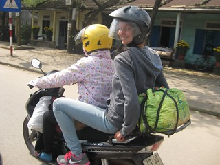 Biking To Dong Hoi