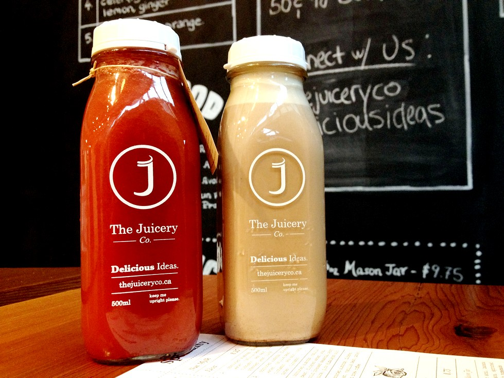 The Juicery Co North vancouver cold press juice cleanse