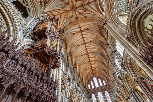 Ely Cathedral - HDR 'Natural' Preset