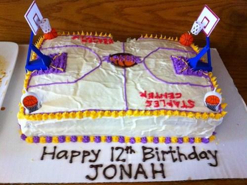 Jonah's cake