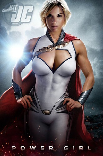 DC Universe: Power Girl by roborange
