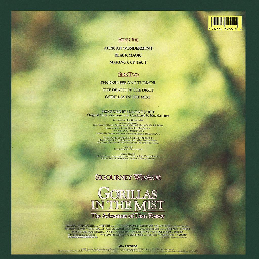 Maurice Jarre - Gorillas in the Mist