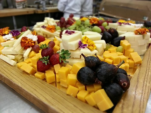 Cheese platter for social - corner view by pipsyq