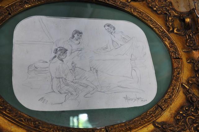 Original Fernando Amorsolo Sketch