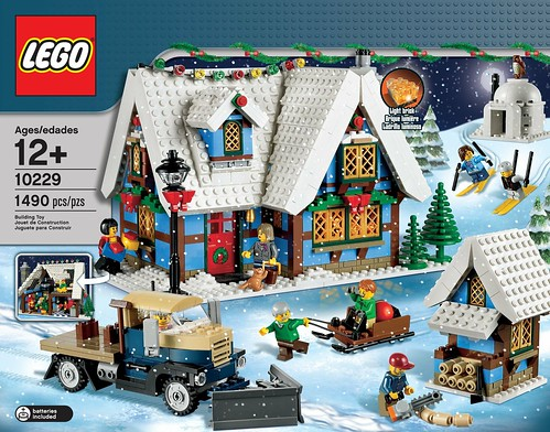 LEGO 10229 Winter Village Cottage 001
