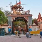 India - Uttar Pradesh - Mathura - Krishna Janmasthan Temple - 112.