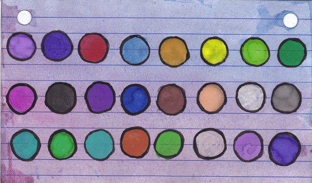 day 9 - i see colours