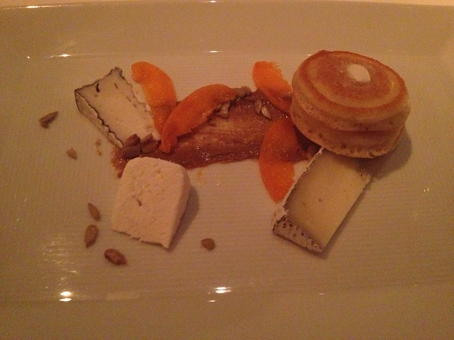 Tasting of goat cheese - Jardiniere