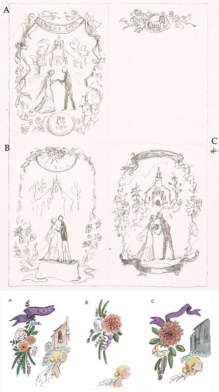 Rebecca & Aaron - sketches