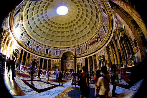Pantheon, Rome ---  inside view