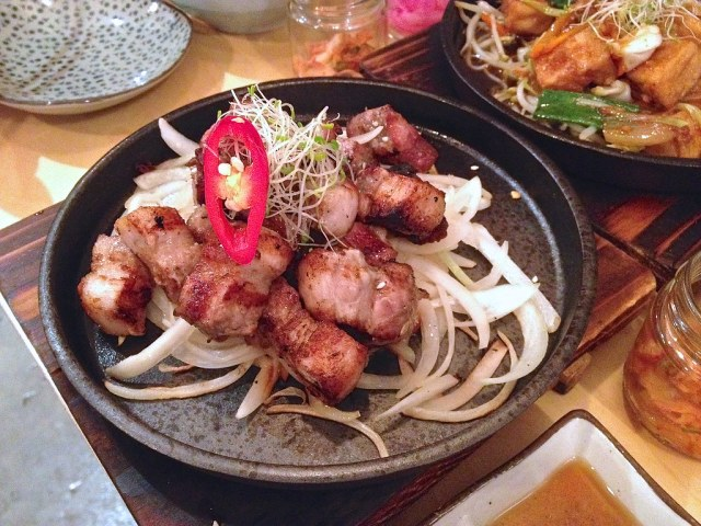 Chargrilled Pork Belly