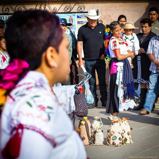 Fiesta at the Basilica de Nuestra Senora de la Salud in Patzcuaro