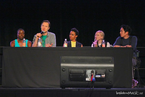 The Walking Dead cast at MegaCon 2014