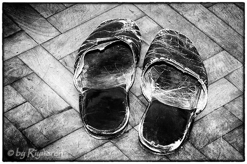 The older slippers in the world