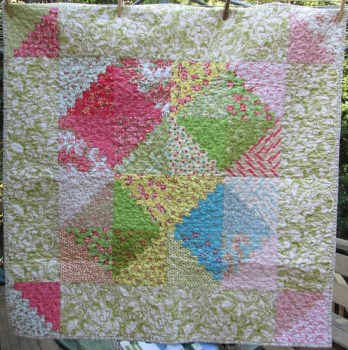 Baby Girl Charity Quilt