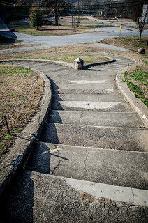 Winding Steps at Pacolet Town Hall
