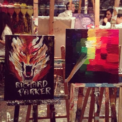 Picassos #datenight @dancywui