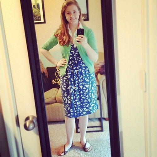 """I am very staunchly """"meh"""" on this #ootd."""