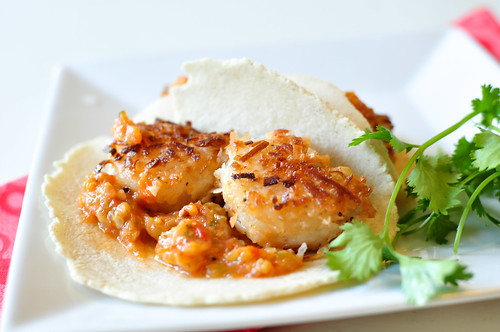 Coconut Shrimp Tacos with Roasted Pineapple Salsa 5